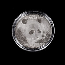 Cute Silver-Plated Panda Baobao Commemorative Coins Collection Art Gift 2018 BH