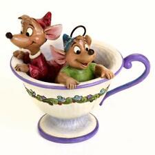 Disney Traditions Jim Shore Cinderella Tea for Two Jaq and Gus Showcase Ornament