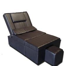 TOA 2-Sofas Reflexology Recliner Foot Massage Sofa Chair Body- Manual (Coffee)