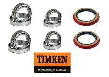 Ford Ranger 2WD Front Wheel Bearing & Seal Set 1995-2011  Premium TIMKEN Set