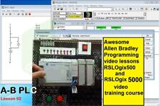 Awesome Allen Bradley Programming Video Lessons Rslogix5005000 Training Course