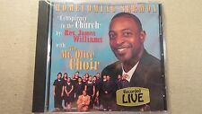 NEW SEALED THE MT.OLIVE CHOIR HOMECOMING SERMON REV. JAMES WILLIAMS CD LIVE !!