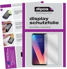 2x LG V30 Plus Film de protection d'écran protecteur clair dipos