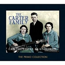 The Carter Family-can the circle be unbroken 2 CD NUOVO