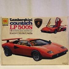 Otaki 1/12 Lamborghini countach LP500S Authentic Scale Model Kit from Japan F/S