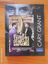 DVD + LIBRO SOSPECHA - ALFRED HITCHCOCK - CARY GRANT - JOAN FONTAINE (K6)