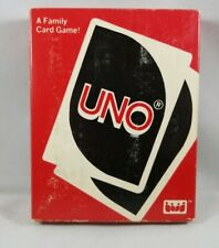Deluxe UNO Card Game 1983 International Games Inc Vintage RARE
