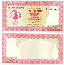 Zimbabwe - 10000 Dollars 2003 UNC - Pick 22d