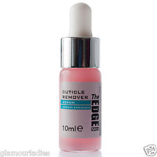 THE EDGE NAILS Cuticle Remover Serum 10ml Vitamin Enriched Teat Dropper Bottle