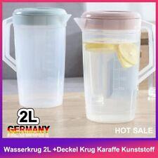 Glaskrug 1,3L mit Deckel ARC Krug Wasserkrug Saftkrug