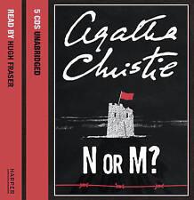 N Or M? Unabridged by Agatha Christie (CD-Audio, 2006)