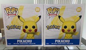 Pokemon - Pikachu 18 Inch Pop! Vinyl - FunKo Free Shipping!