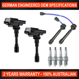 Ignition Coils, Leads & Spark Plug Pack for Suzuki Ignis Liana Swift Sport