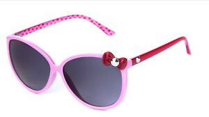 Pink Hello Kitty Girls Sunglasses With Bow