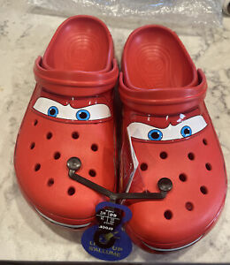 Crocs Lightning McQueen Disney Pixar Adult Size 13 Ka-Chow!