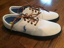 men's Ralph Lauren POLO sneakers loafers boat shoes 15 NEW