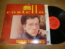 Elvis Costello - Punch the Clock  - LP Record  EX EX