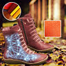 Women Autumn Multi Colors Casual hot-flat-heel-boots Arch Support Shoes Side Zip