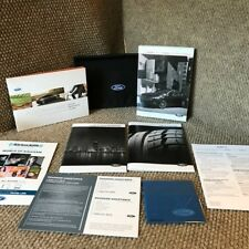 2017 Ford Fusion Hybrid Owners Manual with maintenance & warranty guide and case