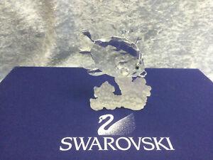 Swarovski Crystal Butterfly Fish 7644077000 162888. Retired 1998. MIB