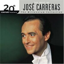The Best of Jose Carerras (The Millenium Collection) (CD, May-2005, Hip-O) NEW!