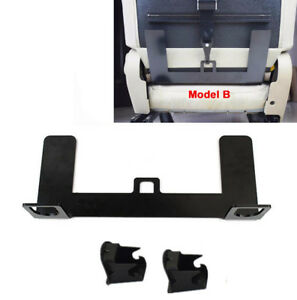 Universal Car Safety Seat Belt Latch Bracket Mount 5mm Steel for ISOFIX Buckle