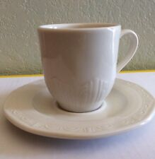 SYRACUSE CHINA CASTLETON CUP AND SAUCER