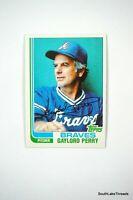 1982 Topps #115 Gaylord Perry NM/MT HOF (Braves)