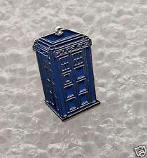 Dr Who Tardis Blue Police Box enamel pin / lapel badge