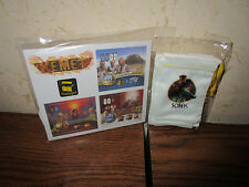Matagot Kemet-Dice Tower Power Tiles, Tuck Boxes, Silk Player Bags Promo Package