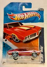 🏁 Hot Wheels 2010 Hot Auction Red Olds 442 🏁