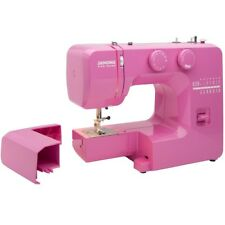Sewing Machine LED Pink Sorbet Detachable Arm Heavy Duty Metal Reverse Lever