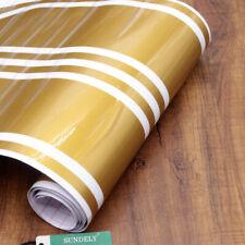 Universal Car Racing Body Stripe Pinstripe Hood Side Decals Vinyl Sticker Gold