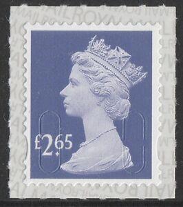 GB Machin Definitive Purple Heather £2.65 single M18L (1 stamp) MNH 2018