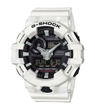 Casio G-Shock GA-700-7ACR White Analog Black Dial Digital Date 55mm Brand NEW