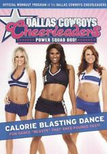 DALLAS COWBOYS CHEERLEADERS: POWER SQUAD BOD! - CALORIE BLASTING DANCE NEW DVD