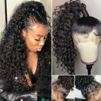 Malaysian Virgin Human Hair Full Lace Wig 360 Lace Front Pre Plucked Baby Hair n