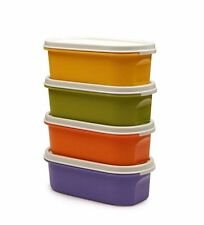 Tupperware Modular Mate oval # 1 Coloured (set of 4) | FREE Delivery