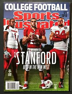 2011 Sports illustrated Andrew Luck Stanford Regional NO LABEL MINT