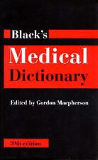 Black's Medical Dictionary by Bloomsbury Publishing PLC (Hardback, 1999)