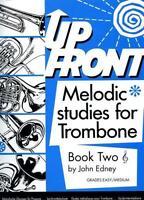 Edney: Up Front Melodic Studies for Trombone (Treble Clef... BW1121TC