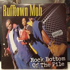 [RAP]~NM 2 DOUBLE Lp~RUFFTOWN MOB~Rock Bottom of the Pile