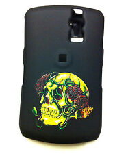 BLACKBERRY CURVE 8300/8320 BLACK WITH SKULL PROTECTIVE COVER NEW