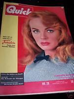 Zeitschrift Quick 13.07.1957 Etchika Choureau