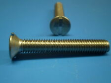 5 dadi acciaio inox + 5 viti DIN 963 V2A M3,5 x 10