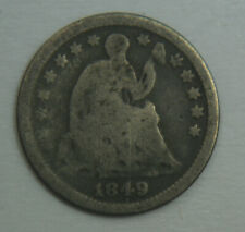 1849 Liberty Seated Silver Half Dime - H10C - No Reserve!