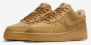 BELOW RETAIL Nike Air Force 1 Low Flax Wheat (2019), multiple sizes (CJ9179-100)