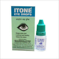 2 * Eye-Drop ITONE Herbal Ayurvedic (10ml) Antibiotic & Antiseptic Eye Drops F/S