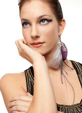 Natasha - Collection Single Feather Earring