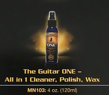 MUSIC NOMAD MN103 THE GUITAR ONE - ALL IN ONE CLEANER, POLISH, WAX 4oz